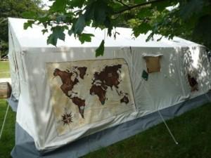 Nationalpark Jasmund Forscherzelt