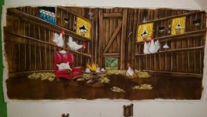 Hühnerstall Pettersson und Findus